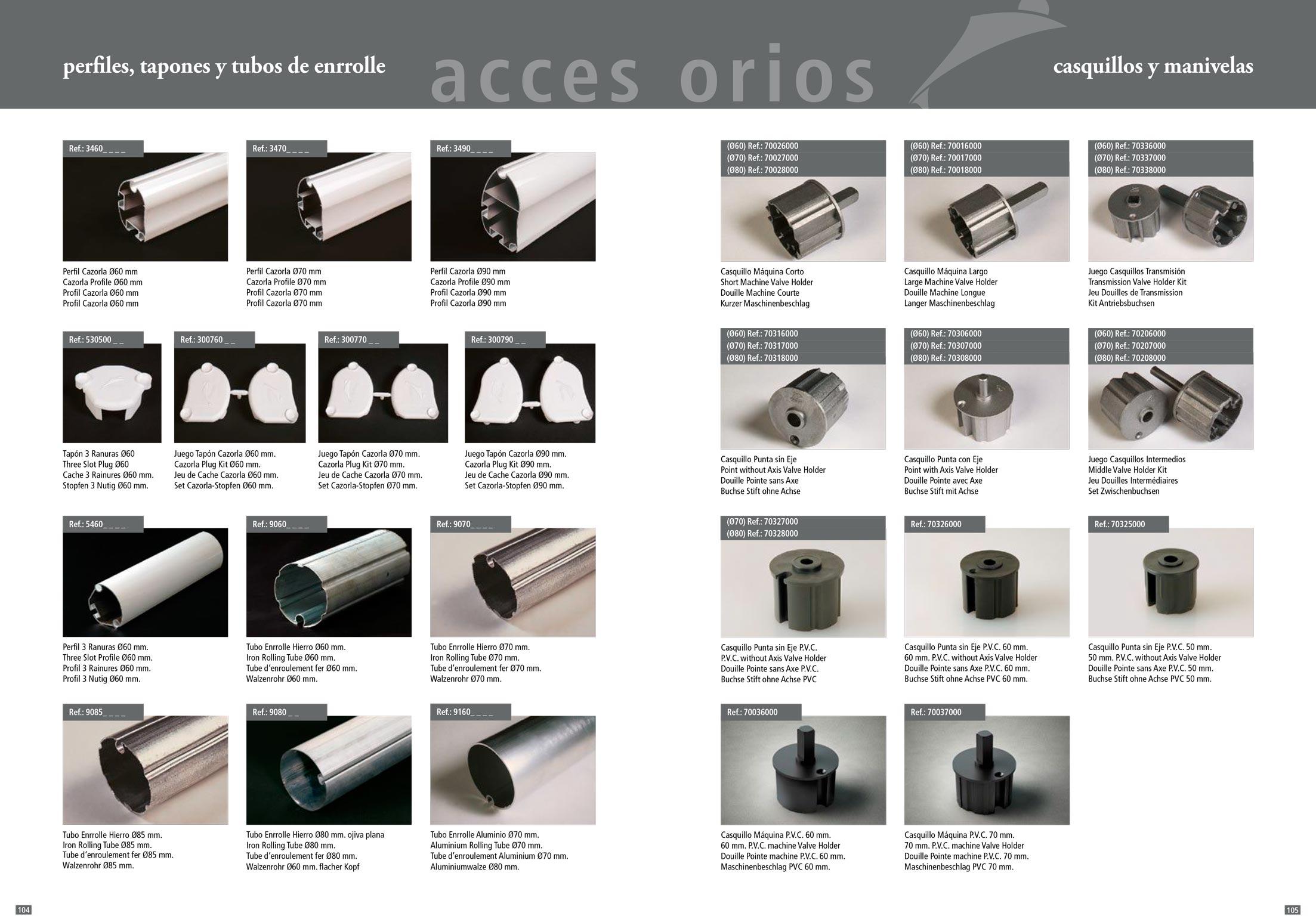 Accesorios para toldos y verticales stadia store for Accesorios para toldos de balcon