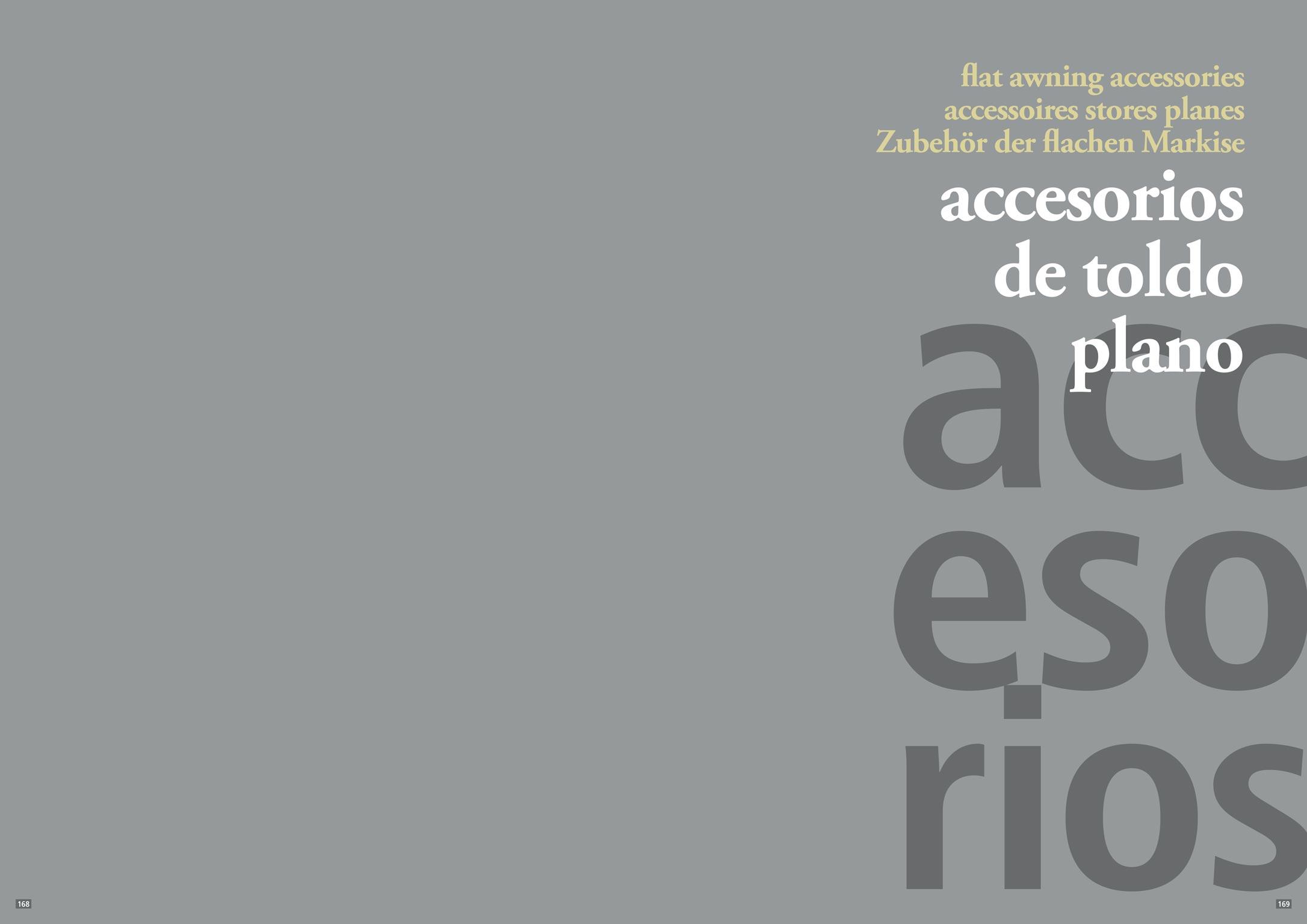 Accesorios de toldos planos stadia store for Accesorios para toldos enrollables